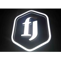 Buy cheap Polymer Material LED Channel Letters For High Class Club , Office from wholesalers