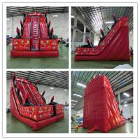Buy cheap PVC Professional Air Filled Inflatable Water Slides For Adults from wholesalers