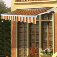 Quality Window awnings outdoor balcony porch awning carport Sun Shade Aluminium Frame for sale