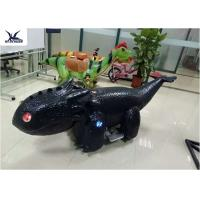 Wholesale Coin Operated Motorized Animal Scooters Game Electric Toy Car Length 1.7 M - 2 M from china suppliers