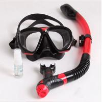 Quality Snorkeling Equipment Adult Diving Mask Full Face Breathing Snorkel set Mask for sale