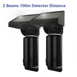 Buy cheap 100m Sensor Distance Solar Powered 2 Beam Wirless IR Infrared Barrier Detector from wholesalers