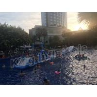 Wholesale Commercial Grade Kids Blow Up Water Park , Giant Inflatable Water Sports from china suppliers