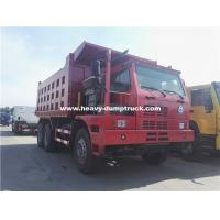 Wholesale 70 Tons Howo Mining Dump Truck ZZ5707S3840AJ 32m3 Body Half Cabin for Nickel Minerals from china suppliers