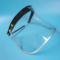 Wholesale Plastic Transparent Anti Virus Protective Face Shields from china suppliers