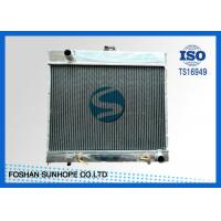 Wholesale S-C/ASS W123 Full Aluminum Radiator , Inlet 35mm Aluminum Radiator With Dual Fans from china suppliers