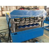 Wholesale 5 - 8 m / min Fast Speed Color Steel Roof Tile Forming Machine One Complete Chain Drive from china suppliers