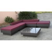 Wholesale All Weather Wicker Patio Furniture outdoor sectional sofa set from china suppliers