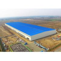 China Steel Structure Warehouse Building Construction Large Span Easy Assemble for sale