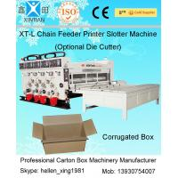 China 11KW Semi-auto Printing Slotting Corrugated Carton Machine In Production Line on sale