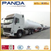 Buy cheap Panda 3 axle fuel tanker trailer 40,000litres or 45,000litres fuel tanker for from wholesalers
