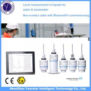 Buy cheap Endress Hauser/ Radar water tank level sensor/water level meter gauge FMR10 from wholesalers