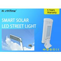 Buy cheap 1500LM High Efficiency 10w Solar Powered LED Street Lights With 120° Viewing from wholesalers