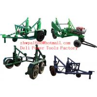 Wholesale Cable Reel Trailer  Cable Reel Puller  Cable Conductor Drum Carrier from china suppliers