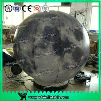 Wholesale 2m Customized Inflatable Moon Planet Decoration With LED Light from china suppliers