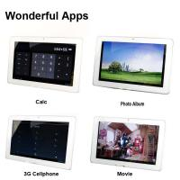 Quality Ips Screen Gps Built-in 3G Tablet PC With 2.0mp Dual Camera for sale