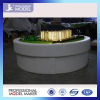 Wholesale hot sale scale building house models / apartments model with LED lighting system from china suppliers