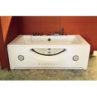 China Double Jacuzzi Whirlpool Bath Tub Small Deep Soaking Tub Computer Control Ss Support on sale