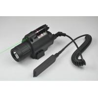 Quality Green Laser Sight and LED Flashlight Combo with Quick Rail Mount gun sight for sale