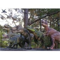 Quality Attractive Robotic Life Size Models Of Animals With Dinosaur Alive Roaring Sound for sale
