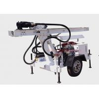 Wholesale Hydraulic Water Well Drilling Machine / Borehole Drilling Rig Diesel Power Type from china suppliers