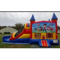 Wholesale Safety Cartoon 3 in 1 Combo Personalized Jumping Castle With Slide from china suppliers