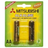 China Lr6 Mitsubishi Alkaline Battery (LR6) AA battery for sale