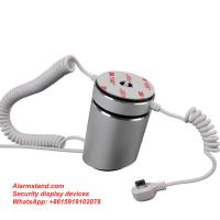 China COMER shop lifting for  single alarm mobile phone multi usb ports device with alarm lockable on sale