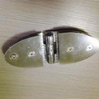 Quality 180 degree glass door hinge in chrome plated for sale
