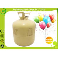 Buy cheap 30LB / 50LB Disposable Helium Tank High Purity Gas For Celebration from Wholesalers