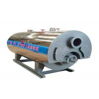 China Horizontal Type Diesel Fired Steam Boiler Fire Tube Structure 3.6kw Total Power for sale