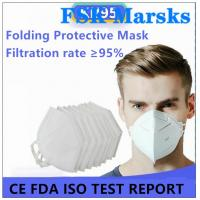 Wholesale Enlarged Foldable N95 Dust Mask Excellent Bacterial Filtration Melt Blown from china suppliers