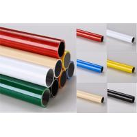 China Customized Colorful Lean PE Coated Steel Pipe 4000mm Anti-corrosive on sale
