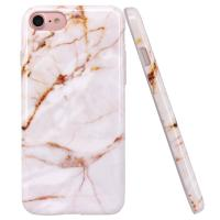 Buy cheap Gold Marble Apple Cell Phone Cases Slim Shockproof Smooth TPU Soft Skin Cover from Wholesalers