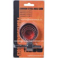 China HCS High Carbon Steel Hole Saw for Wood and Sheet Cutting (5-Piece) on sale