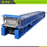 China Klip Lok Roof Panel Roll Forming Machine 12-15m/min for Building Material on sale