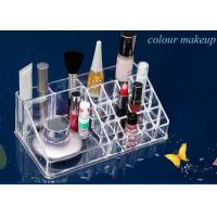 Wholesale Cosmetics Nail Polish Acrylic Display Stand Transparent 16 Compartments from china suppliers