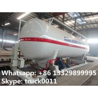 Wholesale best price 90,000L skid lpg gas plant with electronic scale, pump, motor, and skid for sale; skid lpg station for sale from china suppliers