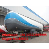BPW 3 axles air suspension lpg propane tank trailer for sale, hot sale air-suspension 3 axles BPW lpg gas tank trailer for sale