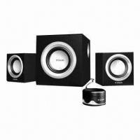 Wholesale 2.1-ch Speaker System with Subwoofer and Piano Paint Finish Panel from china suppliers