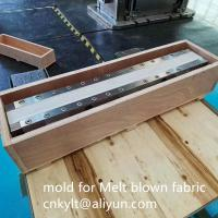 China Precision mold for Melt blown non-woven fabric for mask on sale