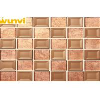 Wholesale Resistant to fading Brown Mirror Mosaic Tiles , Mosaic Shower Floor Tile from china suppliers