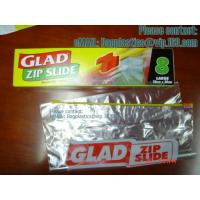 Wholesale Slide Seal Sandwich Bag, Gallon, Quart, American value, drug store, ziploc, zipper seal from china suppliers