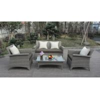 Wholesale Hot Selling Comfortable PE Wicker Rattan Furniture Outdoor Sofa Set from china suppliers
