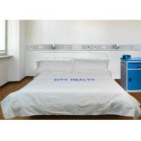 Buy cheap Comfortable Hospital Bed Sheet Print World Polyester Cotton And 220TC 40S from wholesalers