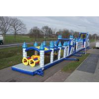 Wholesale Mega Giant Inflatable Obstacle Course Durable Toddler Obstacle Course from china suppliers