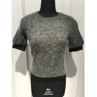 Wholesale Fashionable Lady Mohair Sweater Short Sleeve Anti Shrink BGAX16114 from china suppliers