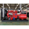 Hot sale 80KW/100KVA emergency diesel generator set powered by Ricardo diesel engine R6105AZLD in red for sale