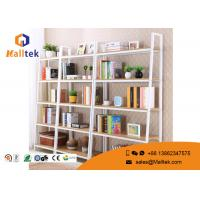 Wholesale Movable Steel Wood Display Rack Powder Coating Wooden Store Shelves from china suppliers
