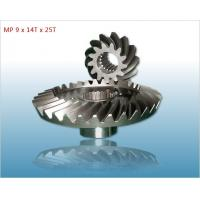 Wholesale Cutom Mechanical Engineering Gears - Helical Gear, Spiral Curved Tooth Bevel Gear from china suppliers